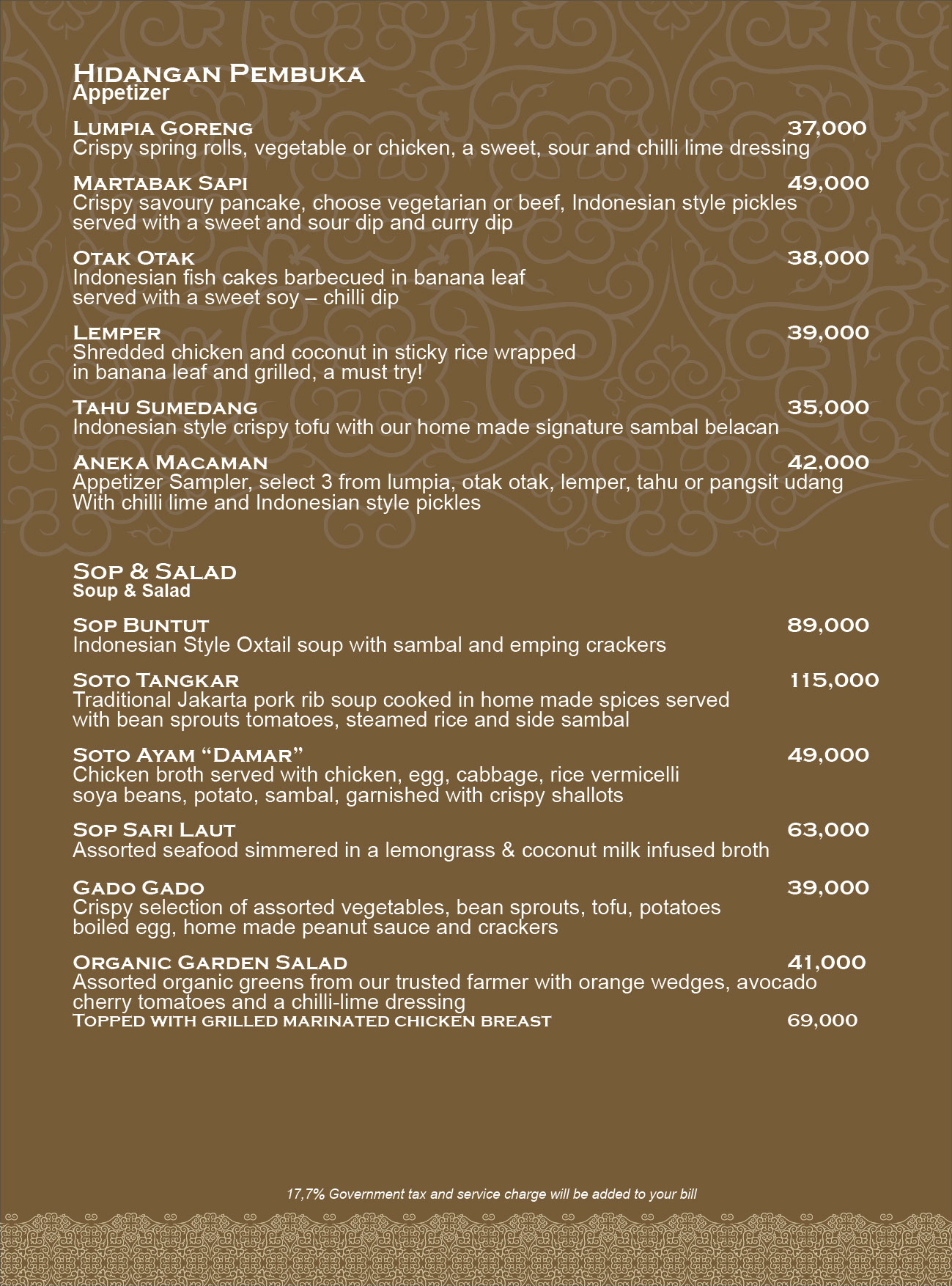 Fantastisch Küche Menü Bali Zeitgenössisch - Küchenschrank Ideen ...