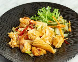 Kuetiaw Goreng Seafood